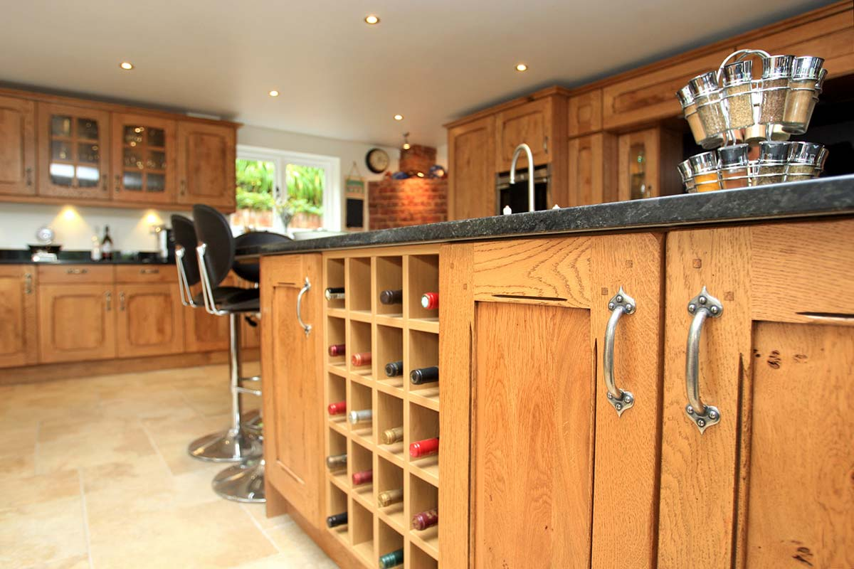 Traditional kitchen planned, designed, installed and fitted by Redline Interiors